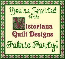 Victoriana Quilt Designs Fabric Party