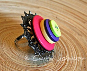 Button ring for Buttons Galore & More by Carla Schauer