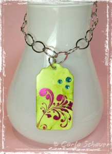 Buttons Galore & More Start Ups Pendant by Carla Schauer