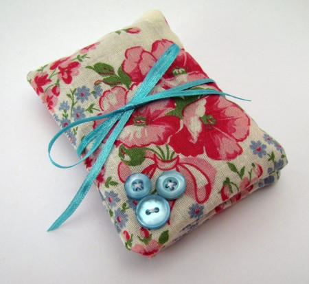 Video: Vintage Hanky Lavendar Sachet with Button Embellishments