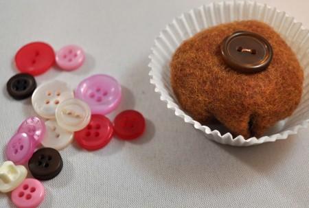 Button Bon Bons for Valentine's Day