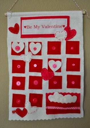 Valentine's Day Countdown Calendar