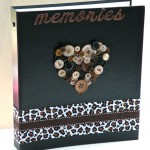 Embellished Scrapbook Album Idea