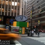 Giant button in NY City