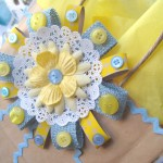 Make a DIY Gift bag rosettes…