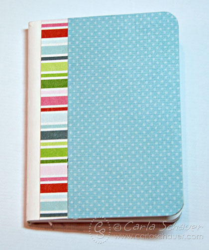 Covered mini-composition book