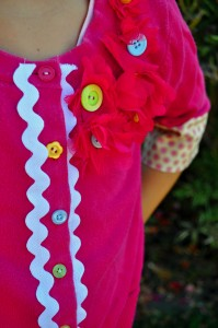 How to Upcycle A Child's Sweater for a Boutique Style