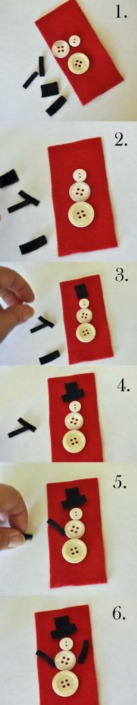 Snowman Tag Tutorial