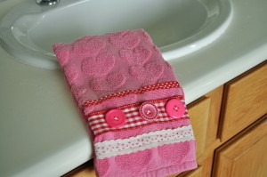 Valentine Hand Towel Beauty Shot