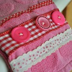Valentine Hand Towel Close-Up