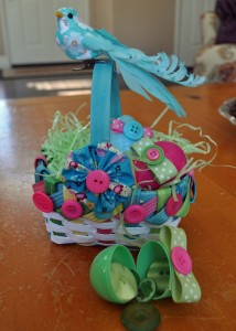 Easter Basket Ideas for Crafters www.buttonsgaloreandmore.net