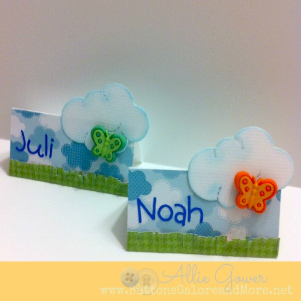Quick and Easy Place Cards Ideas
