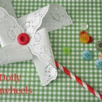 Doily Pinwheels Beauty Shop