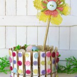 Clothespin craft - Spring Home Decor
