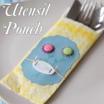 Easter Table Decor — Handmade Utensil Pouch