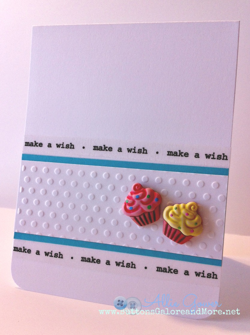 Ideas To Make A Birthday Card Part - 29: Buttons Galore