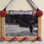 Father's Day Gift – Button Photo Wall Decor