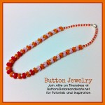 Buttons & Beads Necklace