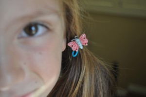 DIY Button Hair Accessories on the Buttons Galore and More Blog
