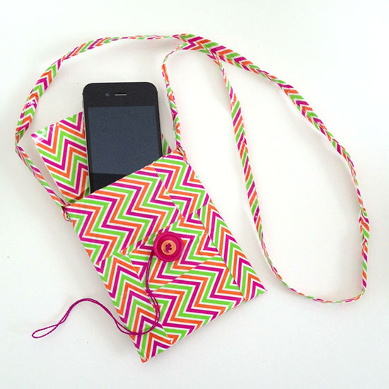 Make your own iPhone purse