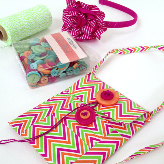 Fun colors to make your own iPhone purse