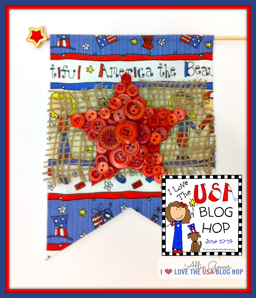 Patriotic Craft - A Country Chic Flag
