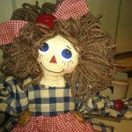 prim doll girl haberdashery primitive buttons