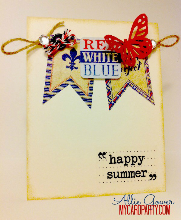 Red White and Blue Happy Summer to You