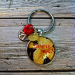 Shine On Keychain for Buttons Galore