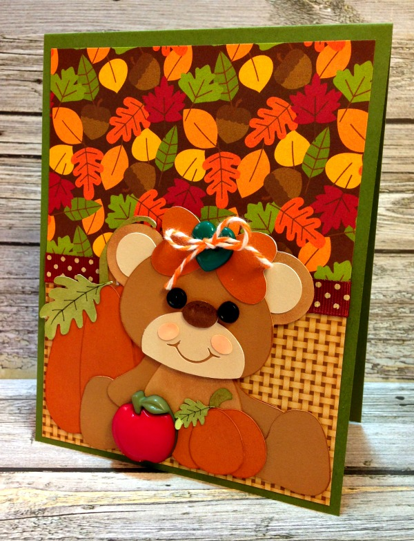 Fall Bear Card