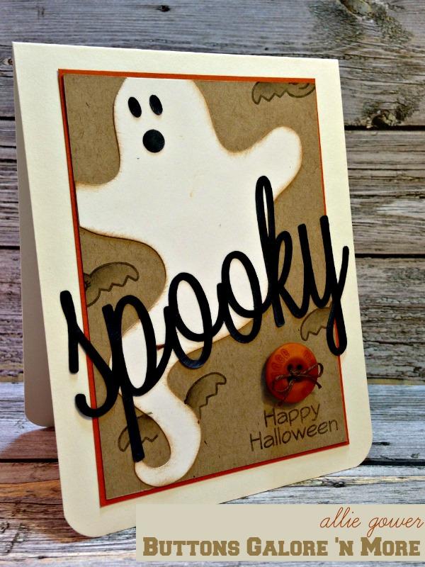 halloween card, card making, fall crafts