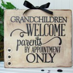 Grandchildren Welcome Sign