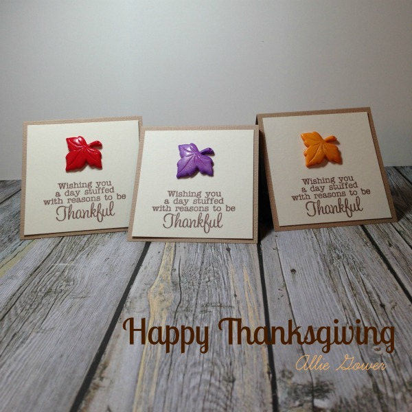 thanksgiving paper crafts, thankful cards, cards with buttons, a jillian vance design