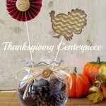 Simple Thanksgiving Centerpiece