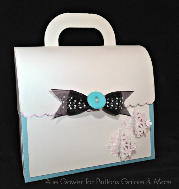 Buttoned Up Gift Bag