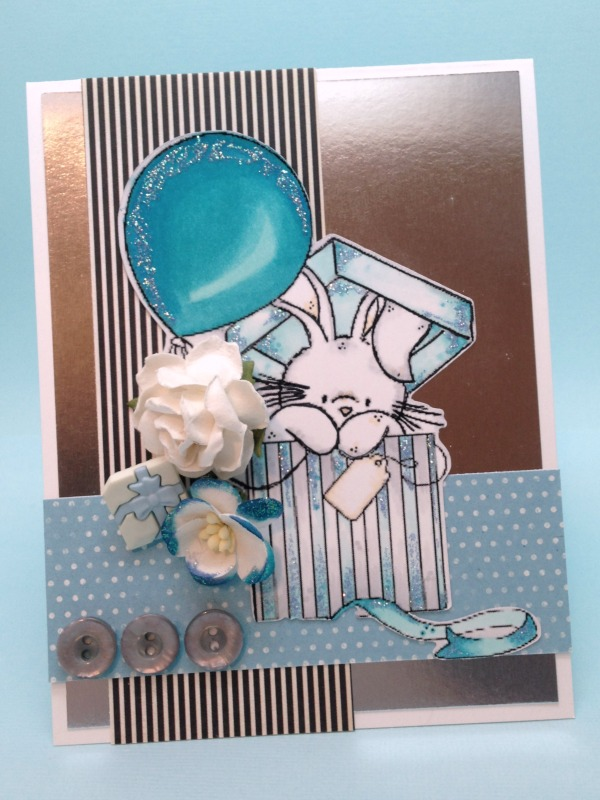 Bebunni Blue Birthday front