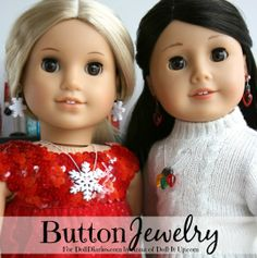 Doll Diaries, Laura Kelly Buttons