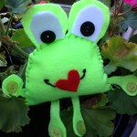A Valentines Day Frog To Love - Fifteen MINUTE Friday