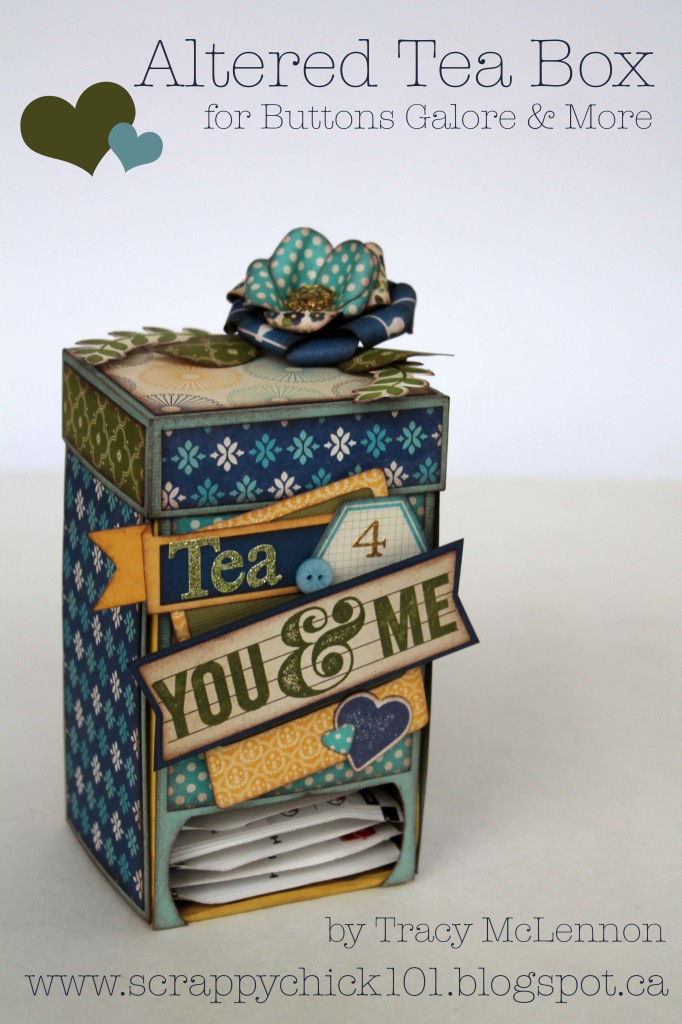 Altered Tea Box