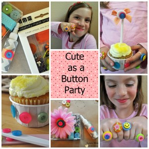 Pinable Button Party Badge