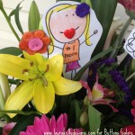 DIY Mothers's Day Flower Picks - Fifteen MINUTE Friday