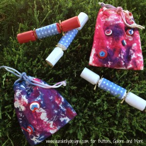 Tie Dyed Gift Bags