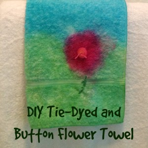 DIY Flower Towel