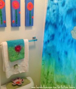 Tie Dye Bath