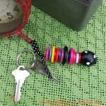 Button Stack Keychain