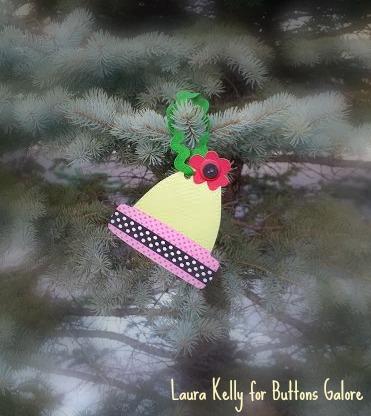 Winter Hat Ornament - Fifteen Minute Friday