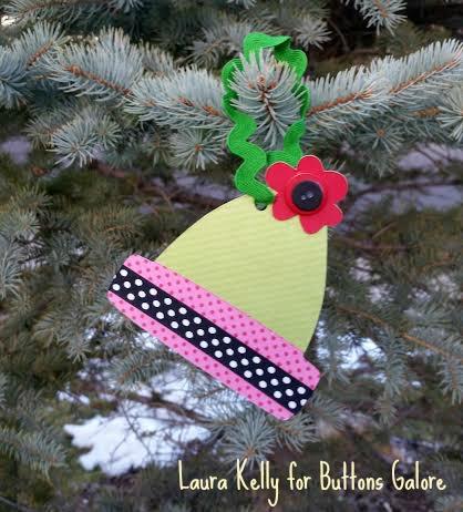 Winter Hat Ornament 3