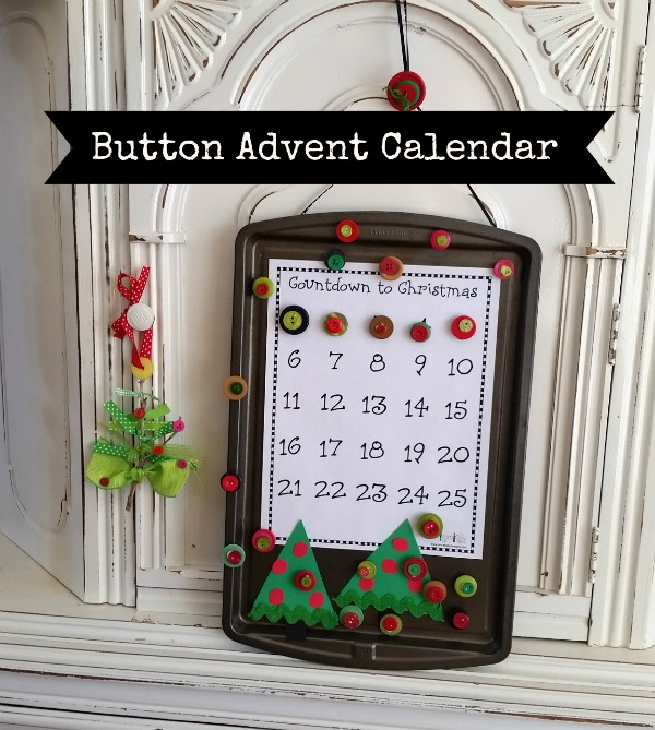 Button Advent Calendar
