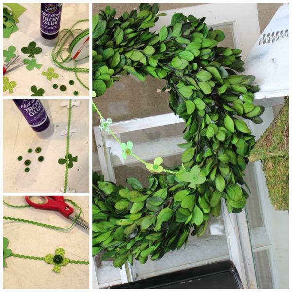 Creating Wreath Garland