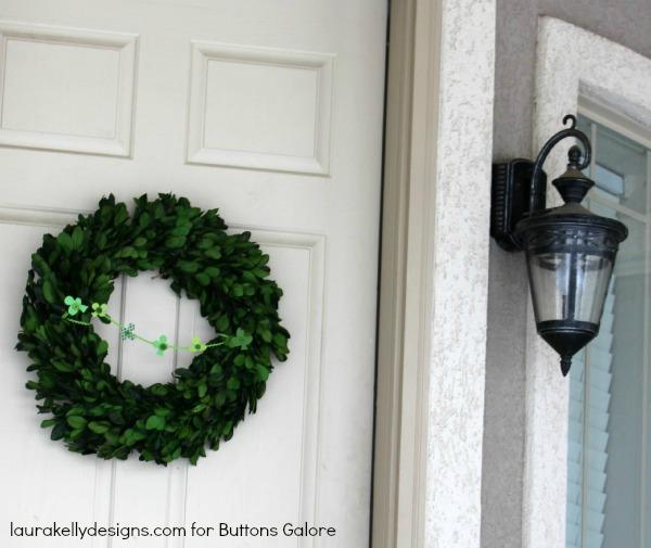 Wreath Front Door
